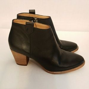 Madewell Black The Billie Ankle Boot